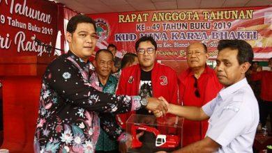 Photo of KUD Mina Karya Bhakti Desa Muara Blanakan Gelar Rapat Tahunan