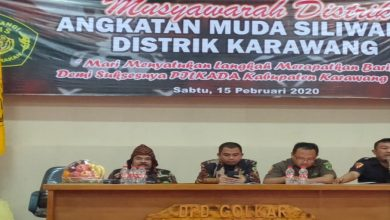 Photo of Ketua Umum PP-AMS Noeri Ispanji Firman Buka Musyawarah Distrik Kabupaten Karawang