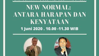 """Photo of Bahas Kebijakan """"New Normal"""", PDRI bekerjasama dengan bumiilmu.com gelar Webinar"""